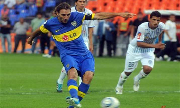 boca juniors 1 point away from argentine title