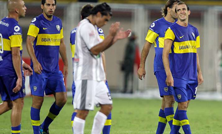 boca struggles to 0 0 draw against union