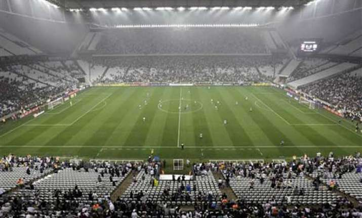 brazil holds final stadium tests for world cup