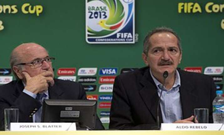 brazil minister speed up work at world cup venues