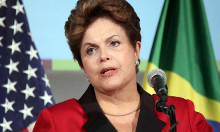brazil president guarantees security at word cup