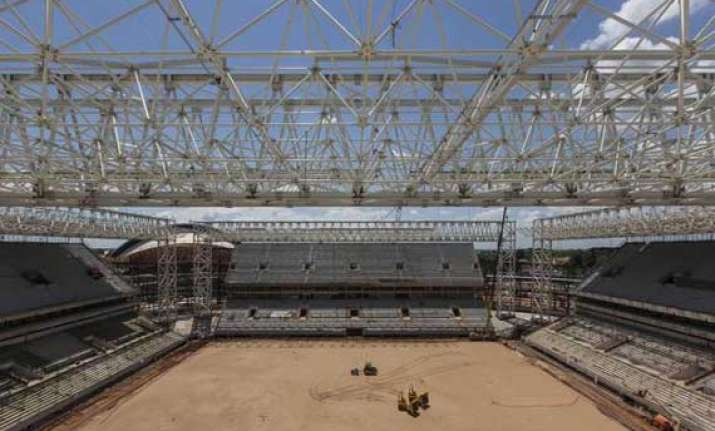 brazil s world cup stadium to open in april