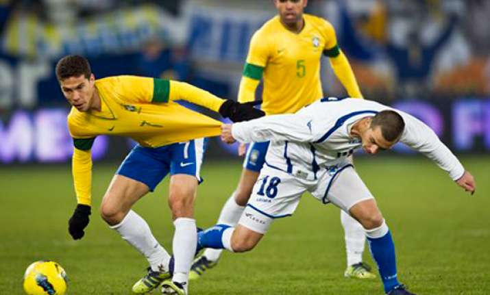 brazil edges bosnia 2 1 in friendly in switzerland