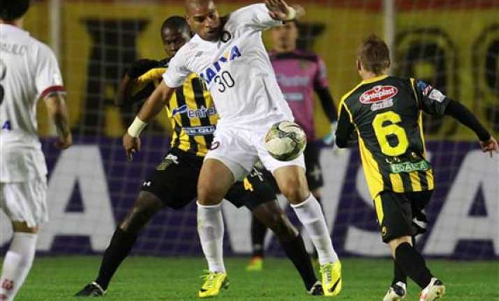 brazilian club releases adriano after 4 matches