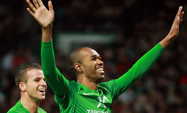 bremen climbs to fourth place in bundesliga table
