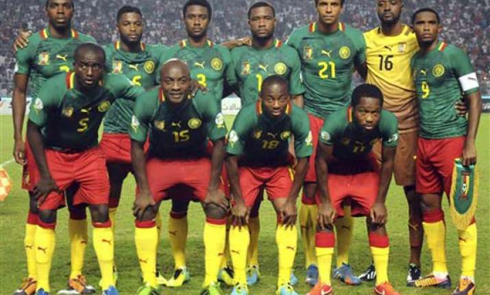 cameroon s players refuse to travel over bonus pay
