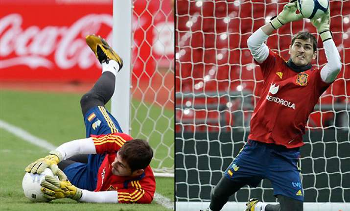 casillas record 127th spain cap a forgettable one