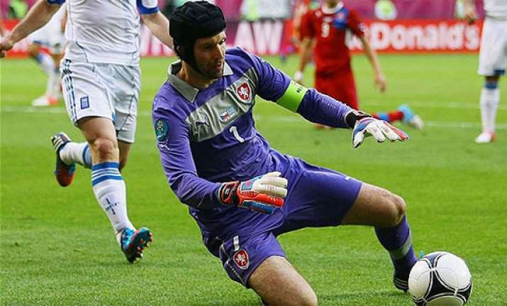 cech set to play for czechs against poland