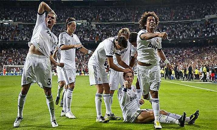 champions league real madrid thrash copenhagen 4 0