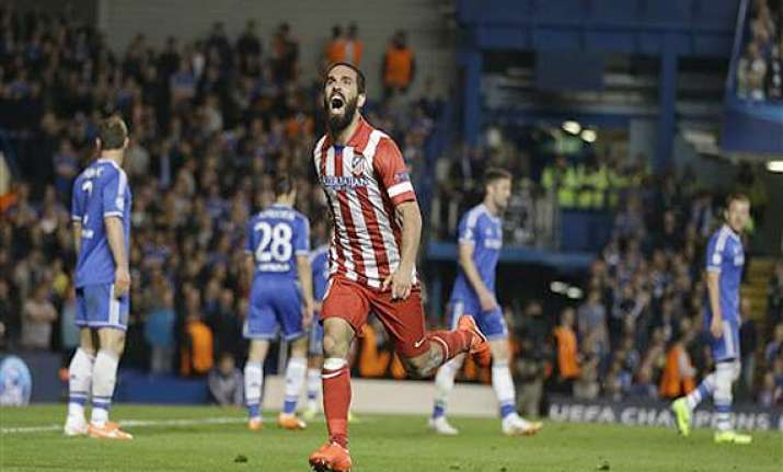 champions league atletico madrid beats chelsea 3 1 to reach