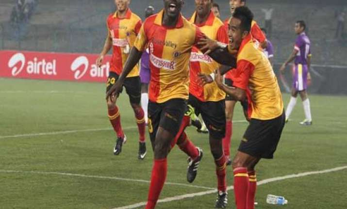 chance for east bengal to close in on i league leaders