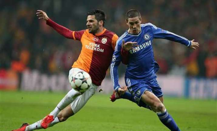 chelsea held by galatasaray in champions league