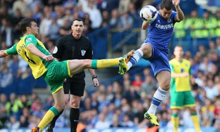chelsea title hopes appear over after norwich draw