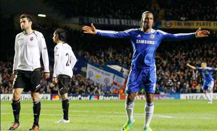 chelsea is last 16 of champions league