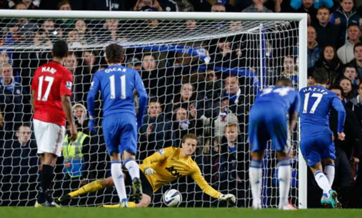 chelsea ousts united from league cup with 5 4 win