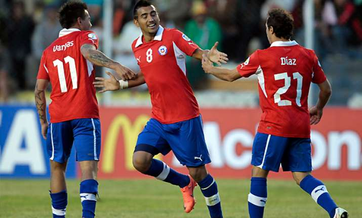 chile defeats bolivia 2 0 in world cup qualifying