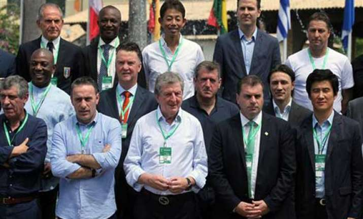 coaches downplay world cup problems in brazil
