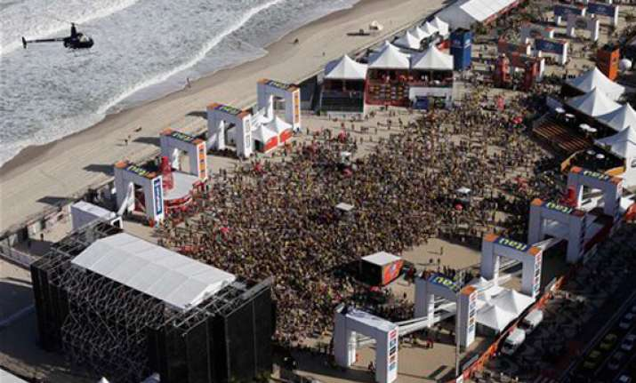 copacabana to host fan fest during 2014 world cup
