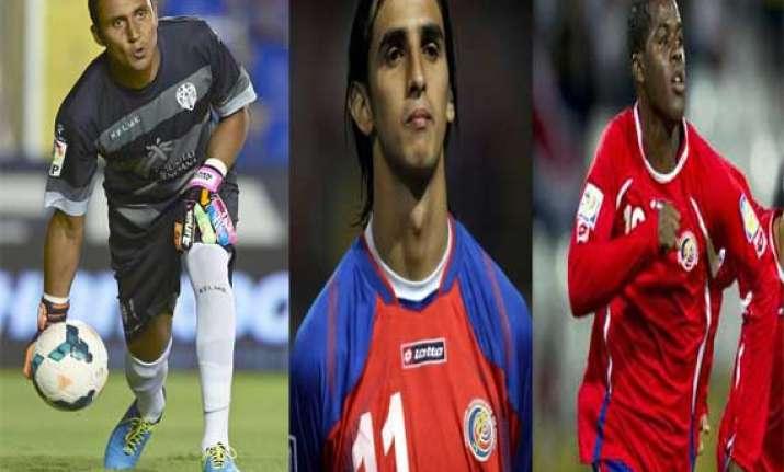 costa rica names 30 man preliminary team