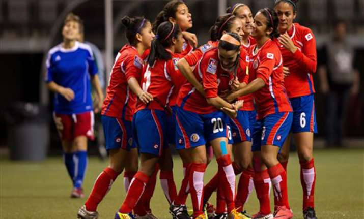 costa rica tops haiti 2 0 in olympic qualifying