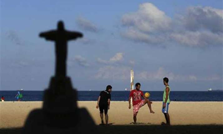count down begins as world cup kicks off this week in brazil