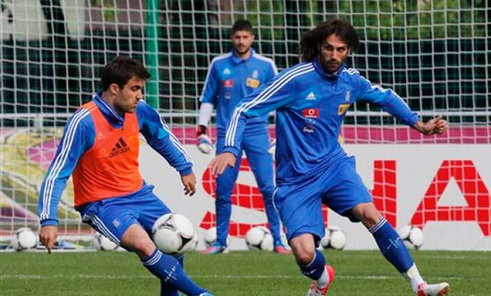 crisis hit greece will get a euro 2012 boost