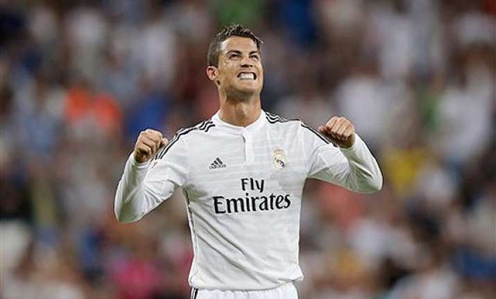cristiano ronaldo seals real madrid s 2 0 win to open