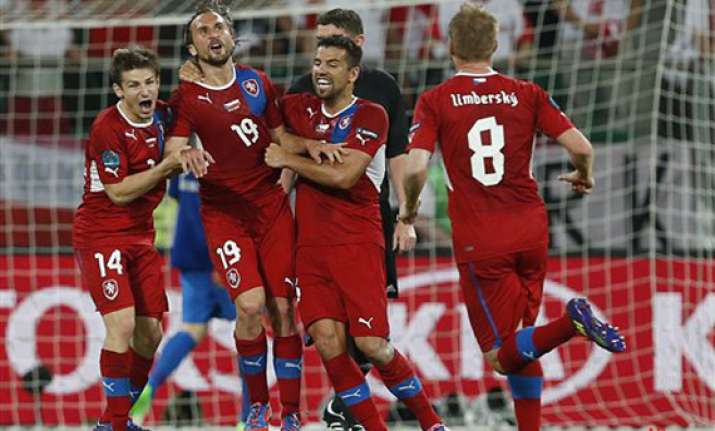 czechs beat poland 1 0 to advance to quarterfinals