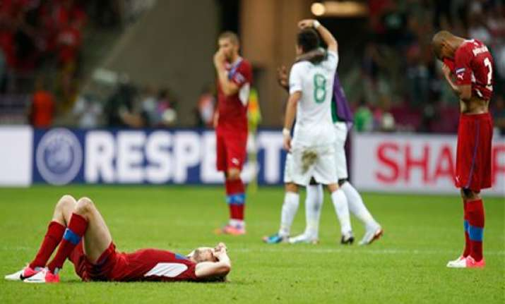 czechs look to rebuilding after euro