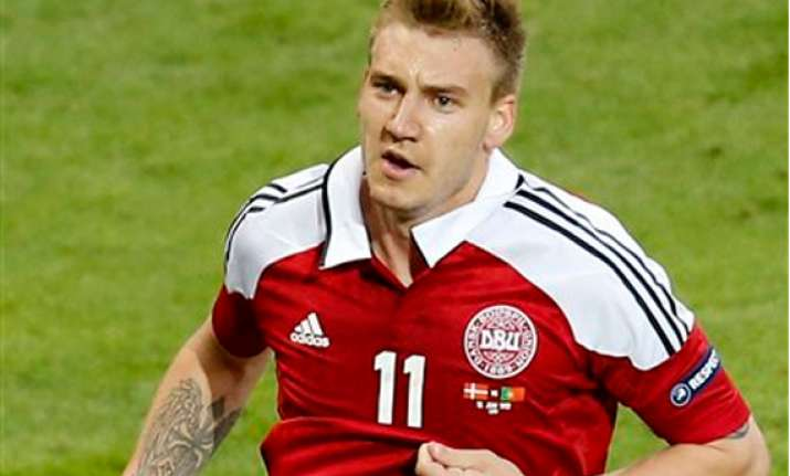 danish fa embarrassed by bendtner underwear stunt