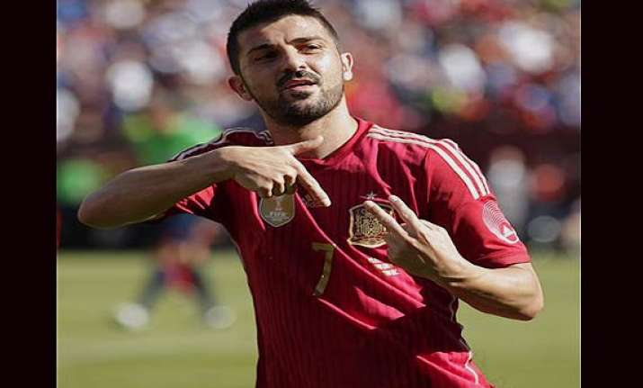 david villa to retire from international football after