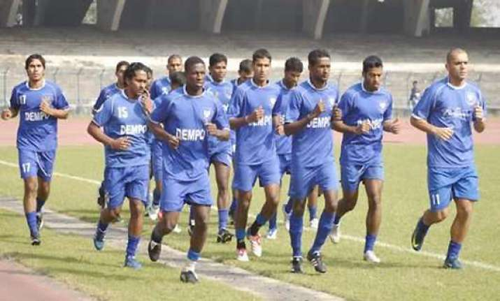 dempo scores resounding win against sporting