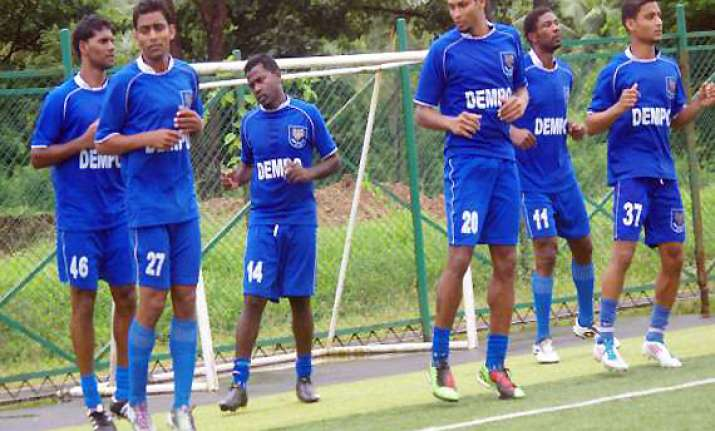 dempo scores resounding win over mumbai fc