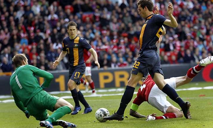 denmark beats australia in euro 2012 warmup game