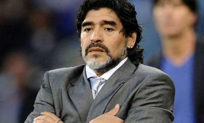 diego maradona becomes father again