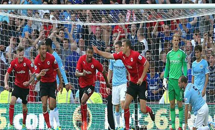 epl cardiff stuns man city 3 2