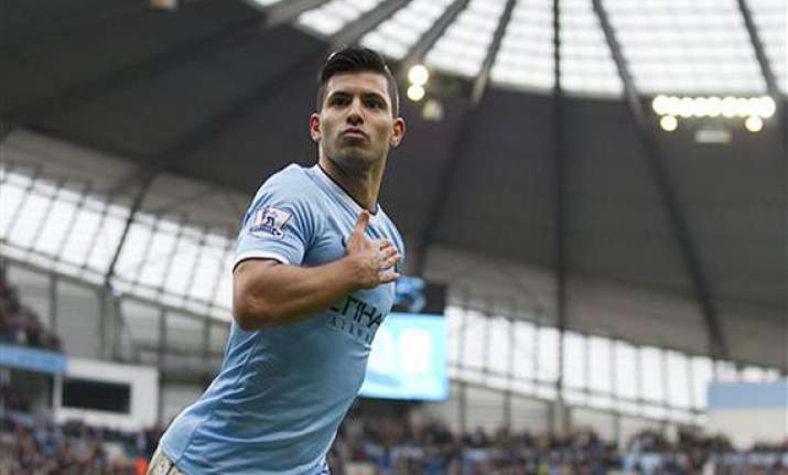 epl sergio aguero signs new 5 year deal with manchester city