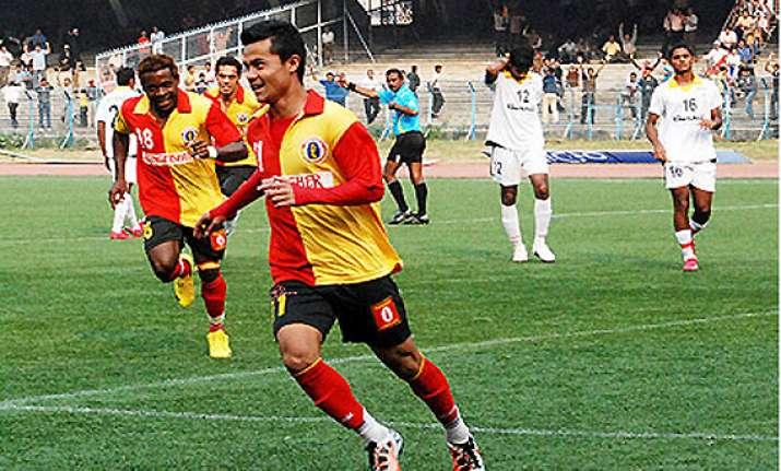 east bengal go down to churchill in i league