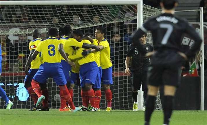 ecuador confident of a berth in world cup