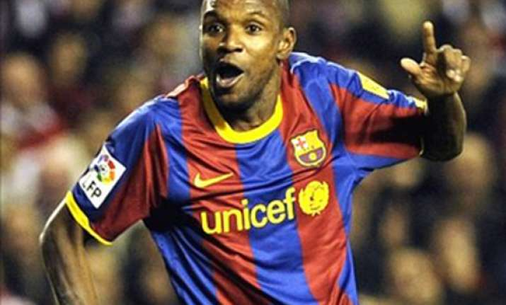 eric abidal invited to watch france sweden in kiev