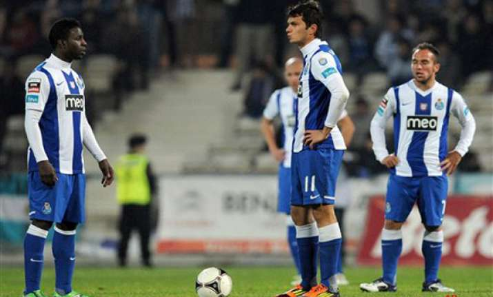 fc porto finally loses in portuguese league