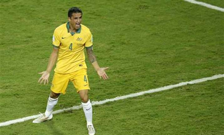 fifa cup evergreen cahill offers hope to australia spain