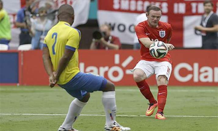fifa world cup wayne rooney ends goal drought as england