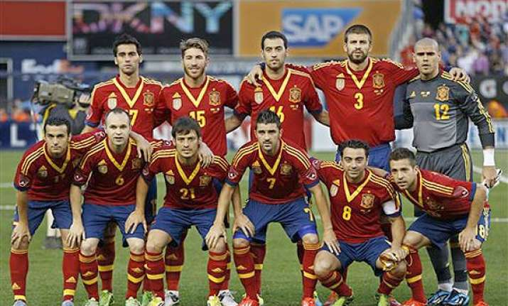 fifa world cup spain tops the rankings brazil rises to no. 3