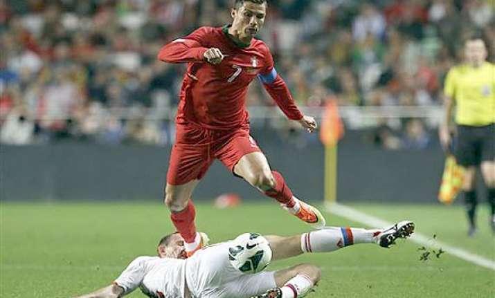 fifa world cup portugal s cristiano ronaldo unfit for