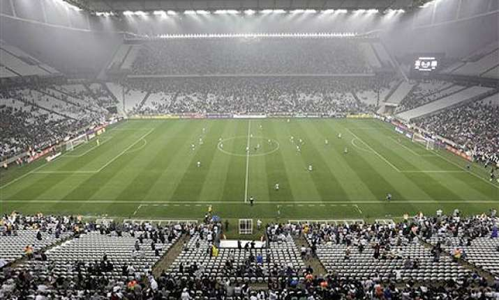fifa world cup officials approve temporary stands for opener