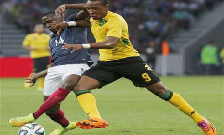 fifa world cup france thrashes jamaica 8 0 in final warm up