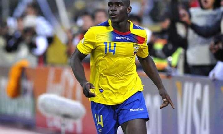 fifa world cup ecuador calls up last minute replacement