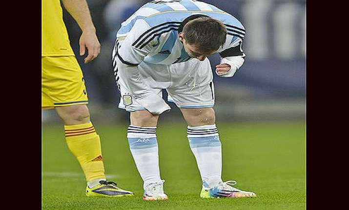 fifa world cup messi s bouts of nausea puzzle world of