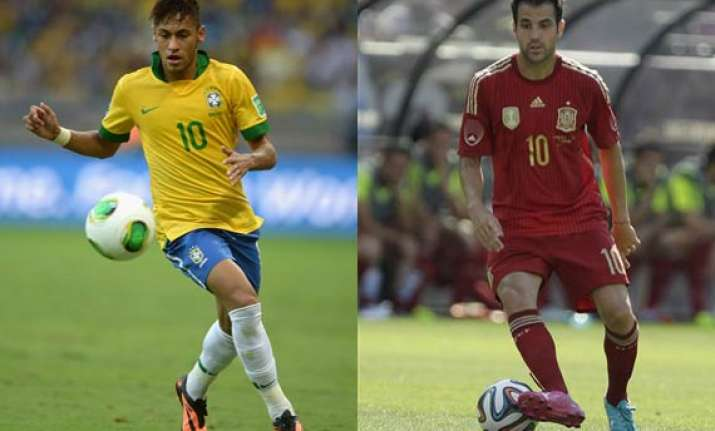 fifa world cup spain brazil favourites argentina belgium